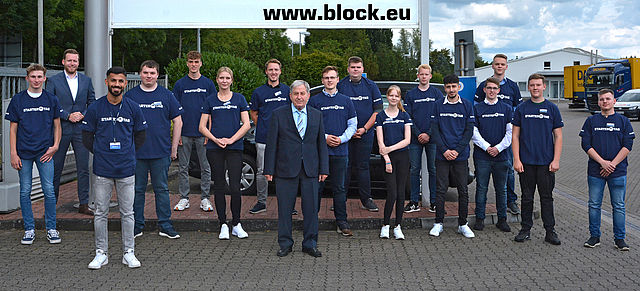 03 August, 2020: BLOCK welcomes 15 apprentices and dual students