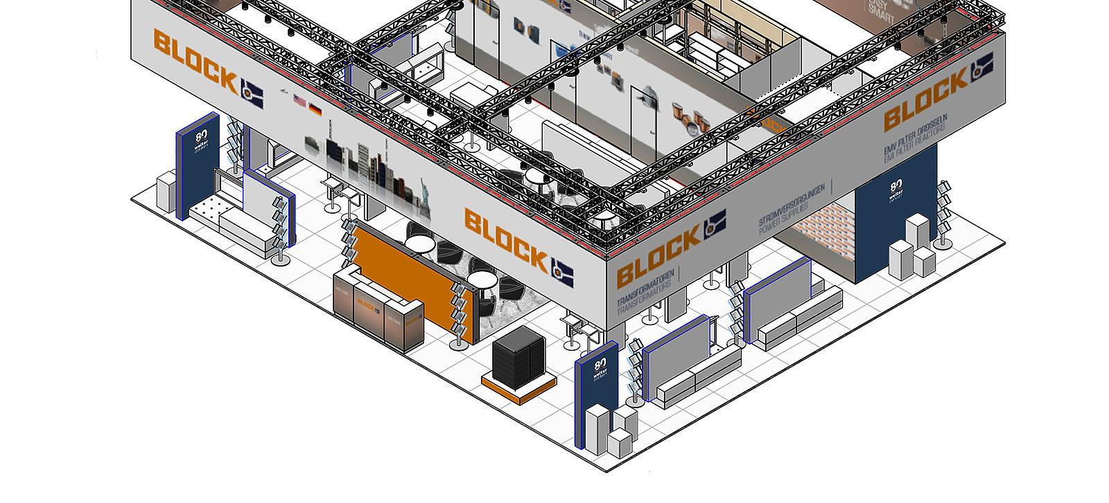 block jubil umsauftritt auf der hannover messe 2019. Black Bedroom Furniture Sets. Home Design Ideas